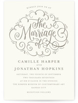 Scripted Marriage by Laura Bolter Design