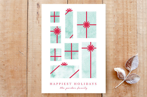 Watercolors Holiday Gifts Custom Stationery