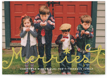 Simply The Merriest Custom Stationery