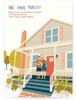 House Illustration Custom Stationery
