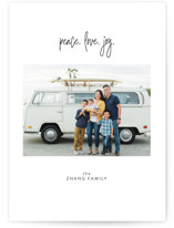 Peace. Love. Joy by Christie Garcia