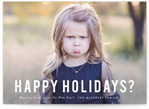 Happy Holidays? by Sara Hicks Malone