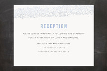 Mitzvah Reception Cards