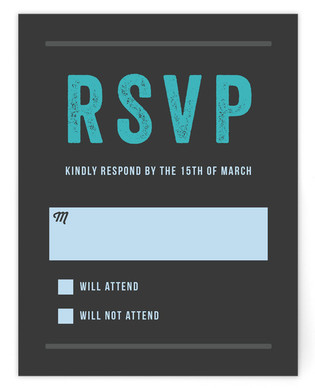 Namely Mitzvah RSVP Cards