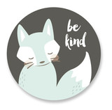 be kind fox by peetie design