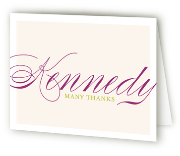 Fete Mitzvah Thank You Cards