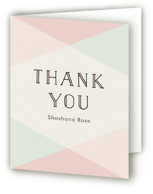 Sweet Embrace Mitzvah Thank You Cards