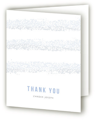 Parchment Mitzvah Thank You Cards