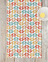 Summer Leaves Self Launch Table runners