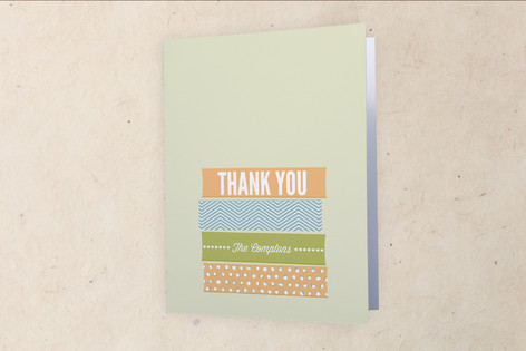 Stacks Moving Announcements Thank You Cards