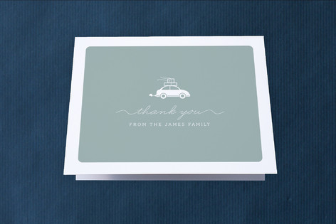 Cargo Moving Announcements Thank You Cards
