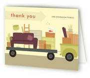 Moving On Moving Announcements Thank You Cards