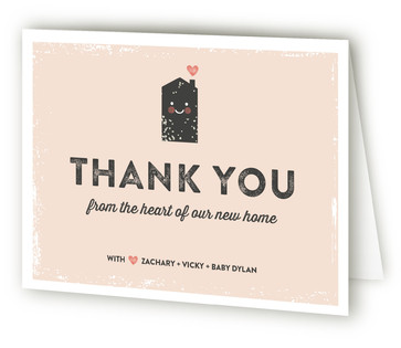 A Sweeter Lot Moving Announcements Thank You Cards