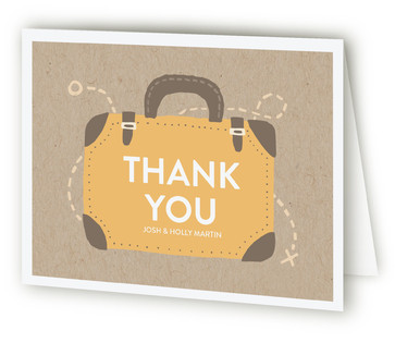 Traveling to a New Home Moving Announcements Thank You Cards