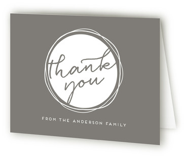 Moving Circles Moving Announcements Thank You Cards