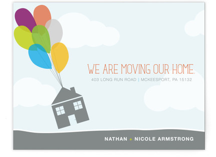 Up Up and Away! Moving Announcements