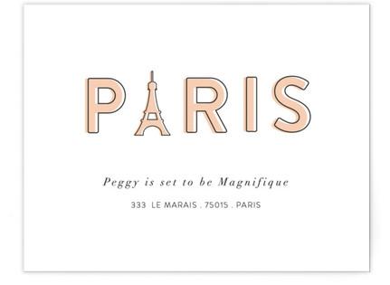 La Parisienne Moving Announcements