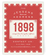 Vintage Stamp by Leah Bisch