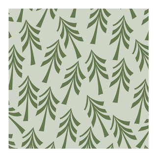 retro trees Self-Launch Wrapping Paper