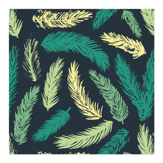Holiday Pines Self-Launch Wrapping Paper