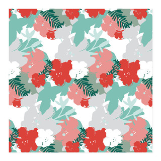 Festively Floral Self-Launch Wrapping Paper