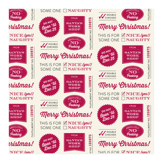 Official Workshop Wrap Self-Launch Wrapping Paper