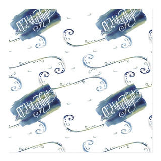 Indigo Holy Night Wrap Self-Launch Wrapping Paper