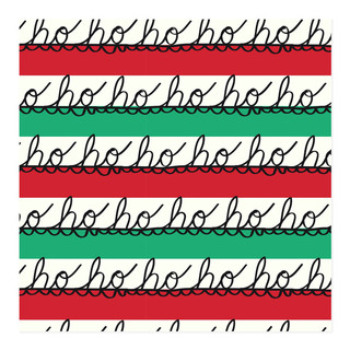 Ho Ho Wrap Self-Launch Wrapping Paper