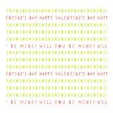 xoxo valentine wrap by Anna Elder