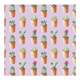 Cactus Wrapping Paper by Lauren Rogoff