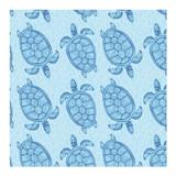 Swimming Sea Turtles by Lauren Hughes