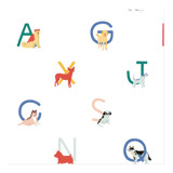 Dogs A to Z Wrapping Paper