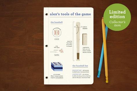 Baseball Gear Notebooks