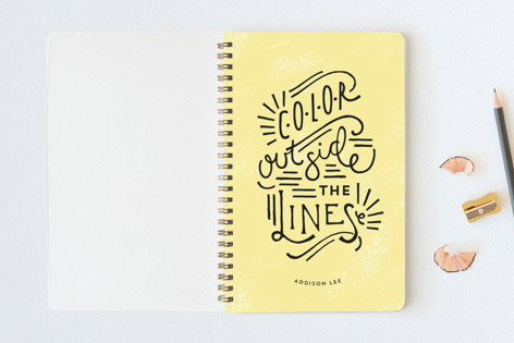 Outside The Lines Notebooks