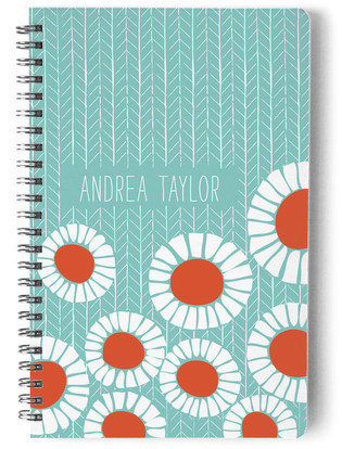 Pretty Poppies Day Planner, Notebook, or Address Book
