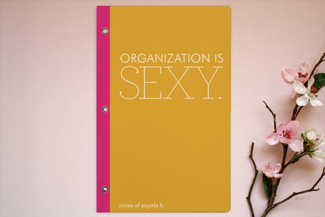 Organization is Sexy Notebooks