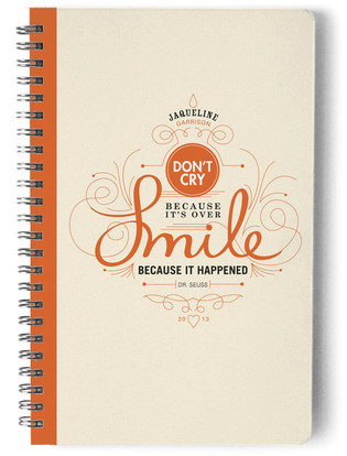Smile Day Planner, Notebook, or Address Book