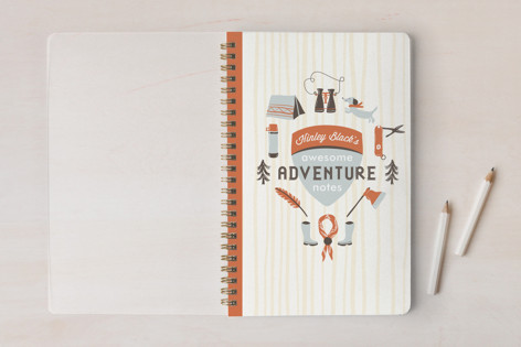 Moonrise Adventure Notes Notebooks