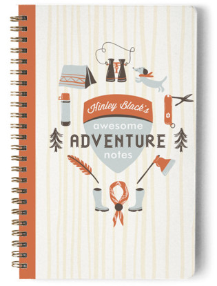 Moonrise Adventure Notes Day Planner, Notebook, or Address Book