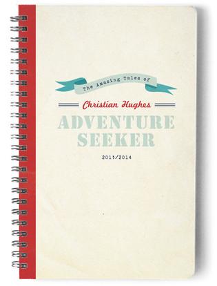 Adventurer Day Planner, Notebook, or Address Book