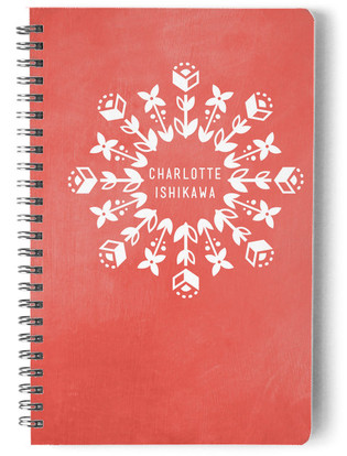 Fleur Day Planner, Notebook, or Address Book