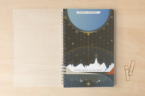 A Journey to the Center of the Earth Notebooks