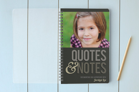 Quotes & Notes Notebooks