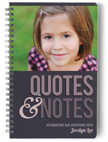Quotes & Notes