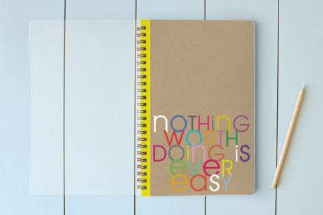 Nothing Worth Doing... Notebooks