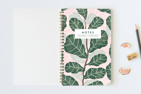 Hello Fiddle Leaf Fig Notebooks