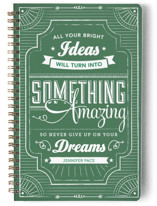 Chalkboard Dreams Notebooks