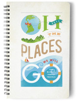 Oh the Places Notebooks