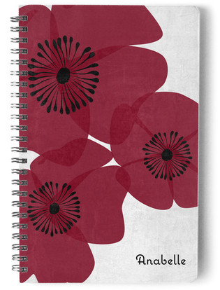 Posy Day Planner, Notebook, or Address Book