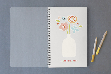 Paper Flowers Notebooks